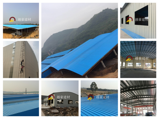 Yuehao plastic roof tiles wholesaler durable recycled plastic roof tiles for manufacturer for wall sealing-37