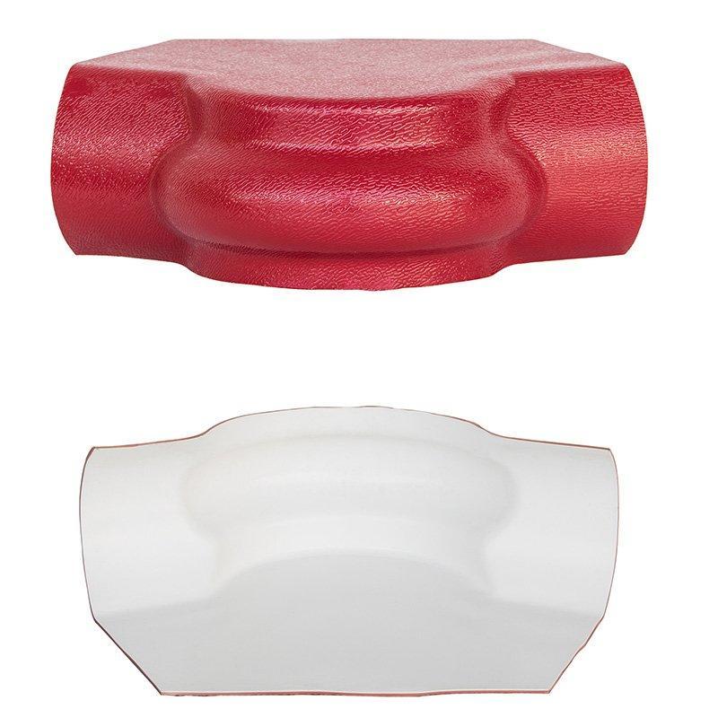 Accessory of ASA synthetic resin tile top ridge tile / side ridge tile / flashing board