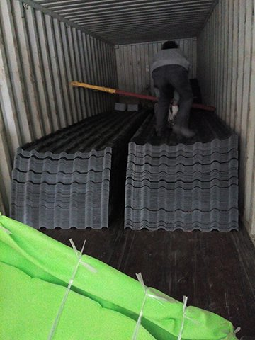 Yuehao plastic roof tiles wholesaler durable recycled plastic roof tiles for manufacturer for wall sealing-25
