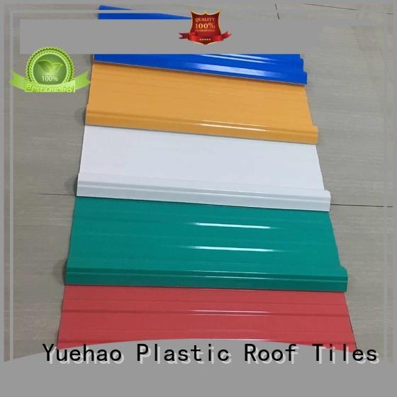 Wholesale corrosion professional lightweight plastic roof tiles Yuehao plastic roof tiles wholesaler Brand