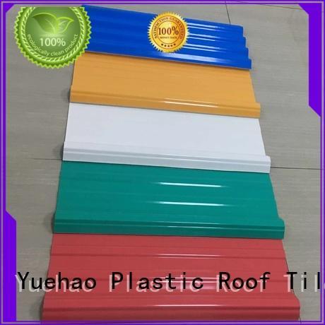 plastic roof tiles manufacturer trendy colored lightweight plastic roof tiles Yuehao plastic roof tiles wholesaler Brand