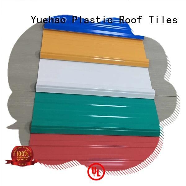 best professional OEM lightweight plastic roof tiles Yuehao plastic roof tiles wholesaler