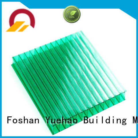 professional best high quality Yuehao plastic roof tiles wholesaler Brand clear plastic roofing
