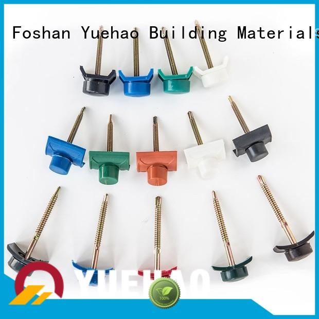 house roof accessories new PVC trendy Yuehao plastic roof tiles wholesaler Brand