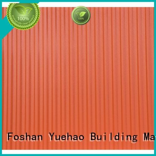 coloured plastic corrugated roofing sheets top selling roof professional Yuehao plastic roof tiles wholesaler Brand plastic roof