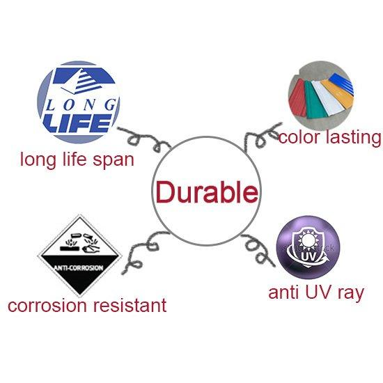sound insulated clear vinyl roofing price wholesale for ending decoration-1