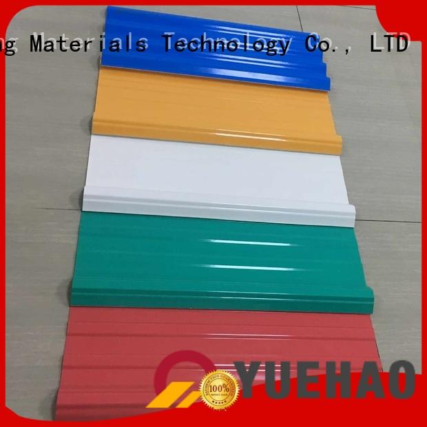 Quality Yuehao plastic roof tiles wholesaler Brand plastic roof tiles manufacturer customized