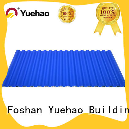 widely used PVC heat insulation sheet for roof upvc overseas market for farm land