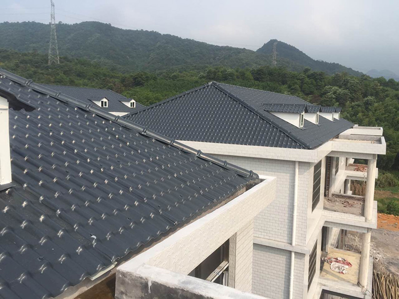 Yuehao plastic roof tiles wholesaler mounted plastic roofing products bulk production for depot-8
