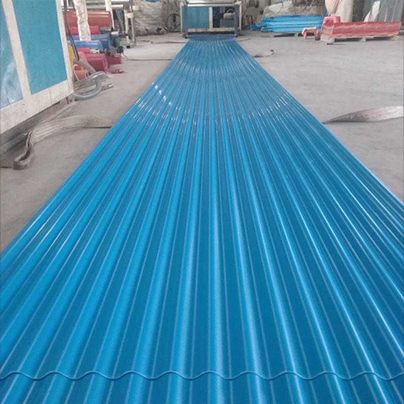 UPVC corrugated plastic roofing panels for modern industrial construction