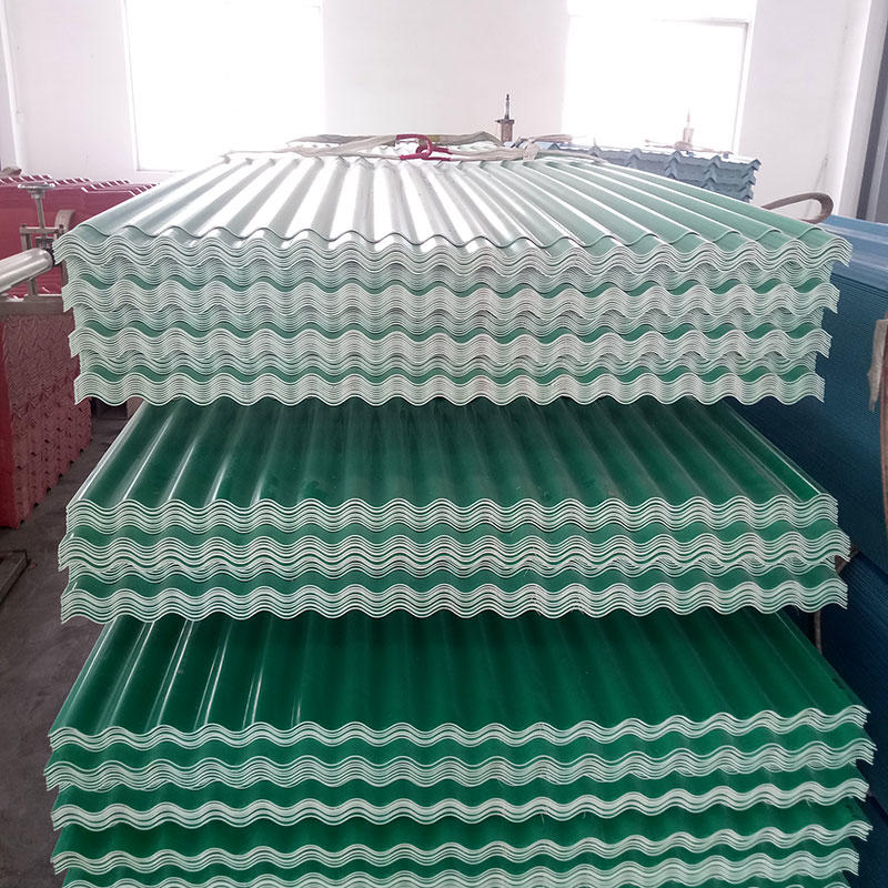 PVC depot roof tiles 3 layer white color anti corrosion roof sheet