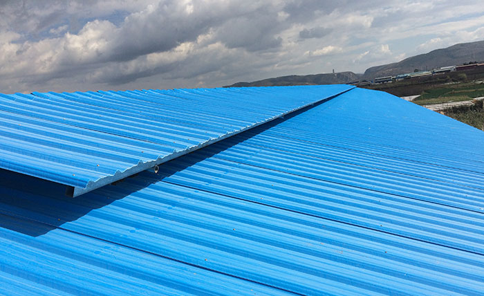 light-weight lightweight roof tiles for sheds sheet factory price for connection-12