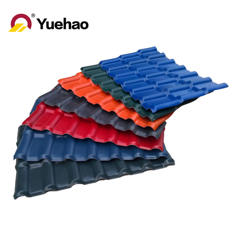 30 Years Warranty Synthetic Resin PVC Roofing Sheet YHASA001 Yuehao Company