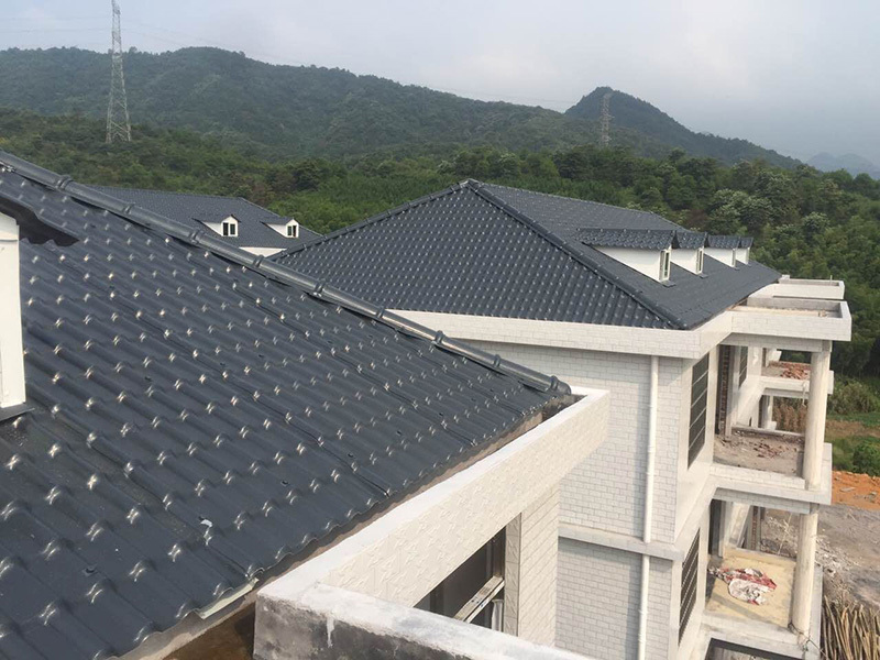 Yuehao plastic roof tiles wholesaler corrosion heavy duty pvc sheet producer for station-8