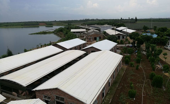 durable lightweight roofing system corrugated supplier for wall sealing-16