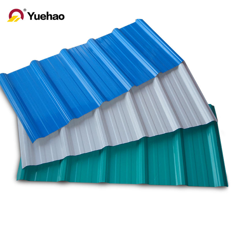Sound & Heat Resistance Warehouse Wall UPVC Roofing Sheet