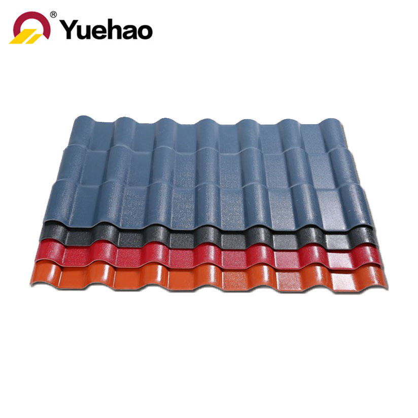 ASA synthetic resin roof tile light weight plastic roof sheet