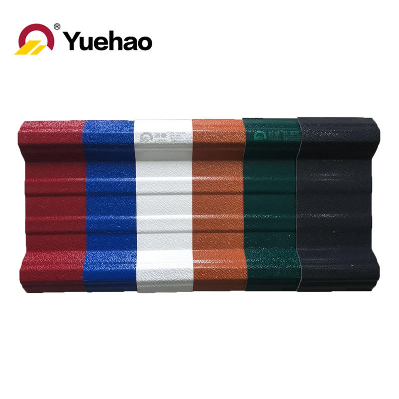 ASAPVC anti-UV / anti- aging roof sheets materials for construction application