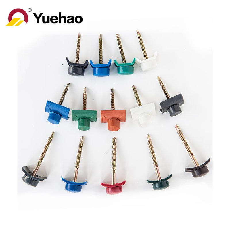 Water proofing screw set of PVC roof sheet