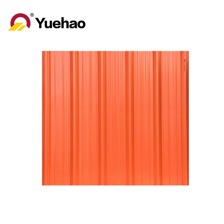 PVC three layer insulated roof tile / roof sheet