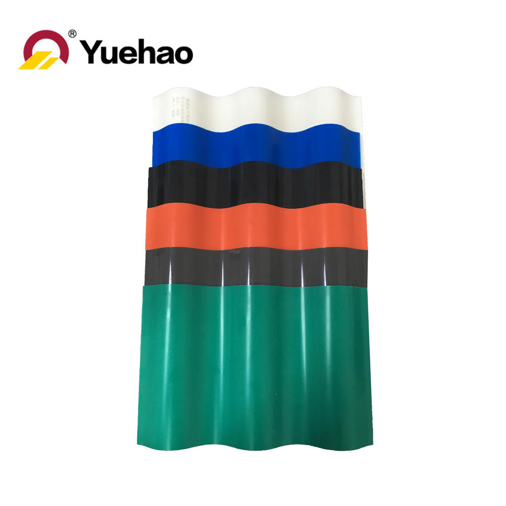heat proof UPVC one layer roof tile / roof sheet