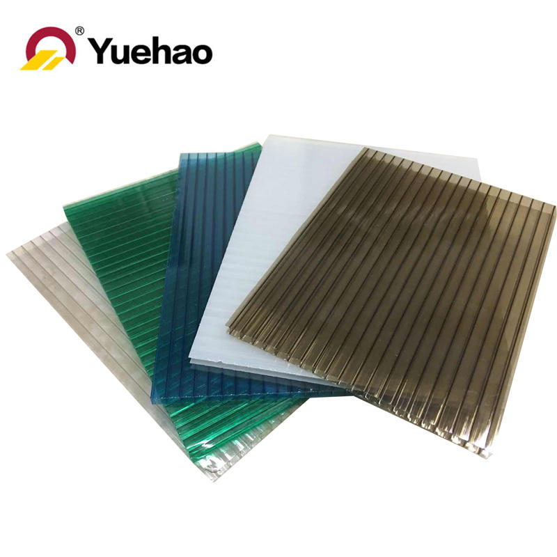 high quality hollow PC roofing sheet for skylight