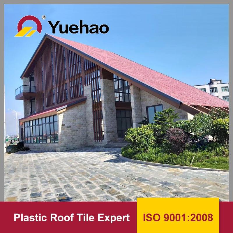 3 Layer ASA coated synthetic resin roof tile