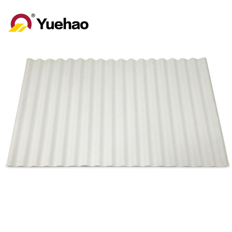 PVC roofing tile UPVCrooftile roundwave tile roof