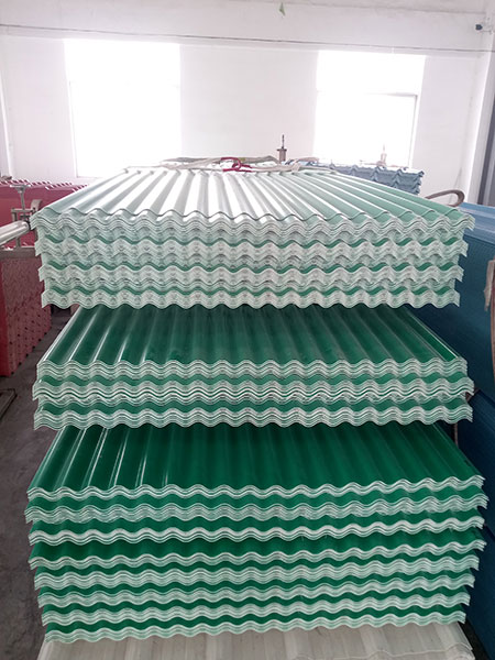 Yuehao plastic roof tiles wholesaler widely used PVC heat resistant roof overseas market for station-7