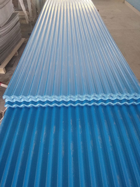 Yuehao plastic roof tiles wholesaler widely used PVC heat resistant roof overseas market for station-8
