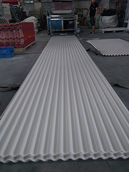 Yuehao plastic roof tiles wholesaler widely used PVC heat resistant roof overseas market for station-9