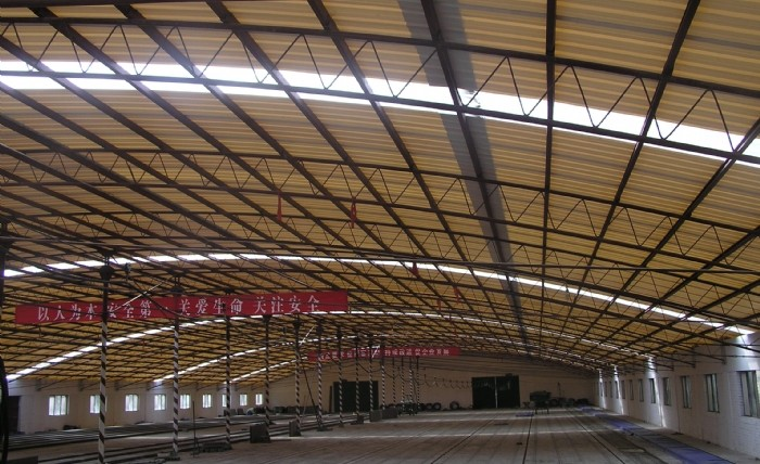 Yuehao plastic roof tiles wholesaler widely used PVC heat resistant roof overseas market for station-13