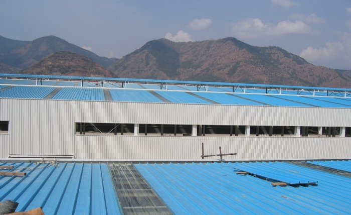 Yuehao plastic roof tiles wholesaler widely used PVC heat resistant roof overseas market for station-14
