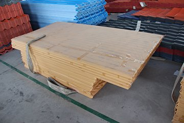 Yuehao plastic roof tiles wholesaler widely used PVC heat resistant roof overseas market for station-19