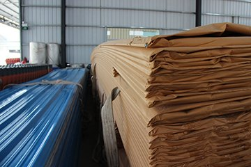 Yuehao plastic roof tiles wholesaler widely used PVC heat resistant roof overseas market for station-20