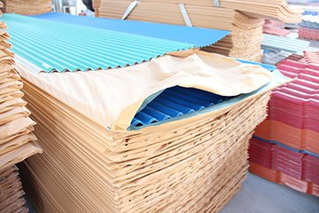 Yuehao plastic roof tiles wholesaler widely used PVC heat resistant roof overseas market for station-21