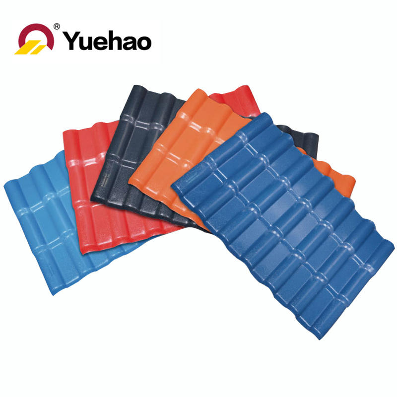 Spanish pvc roofing tile roof tile sprices color roof