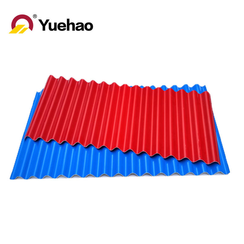UPVC plastic corrugated roofing tile