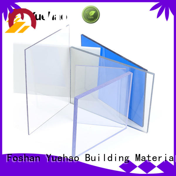 UV resistant clear plastic roof covering dropshipping for water draining