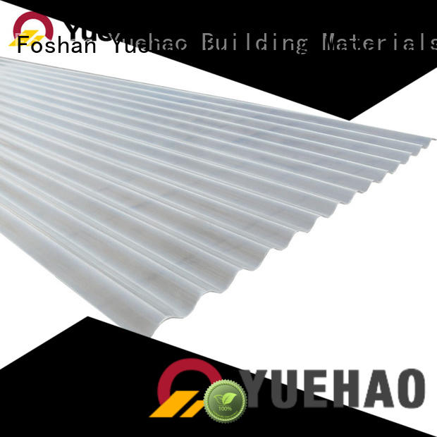 sound insulated clear vinyl roofing price wholesale for ending decoration