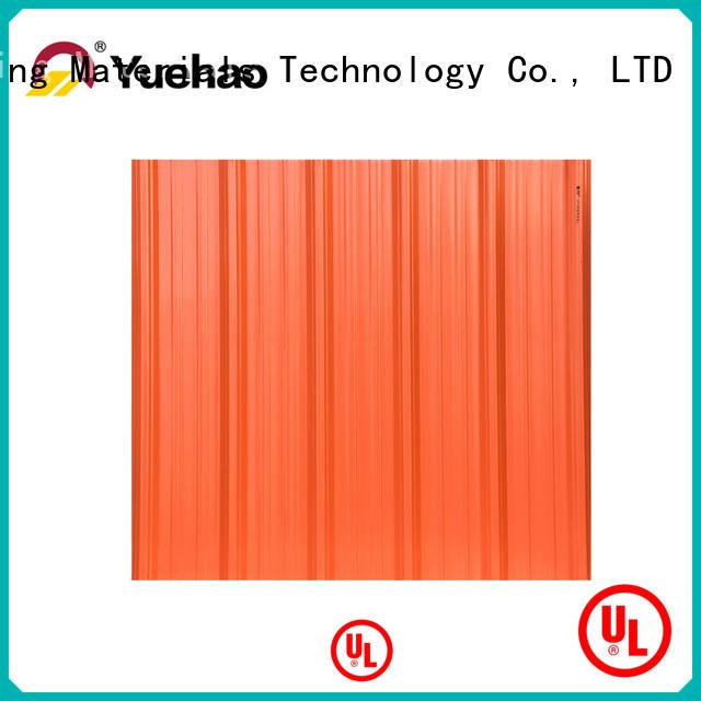Yuehao plastic roof tiles wholesaler corrosion plastic roof tiles reviews overseas market for carport