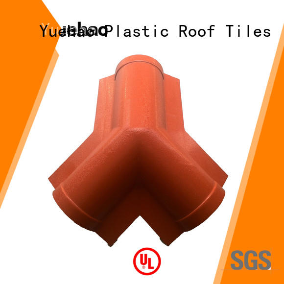 Yuehao plastic roof tiles wholesaler UV resistant best clear roof panel accessories personalized for water draining