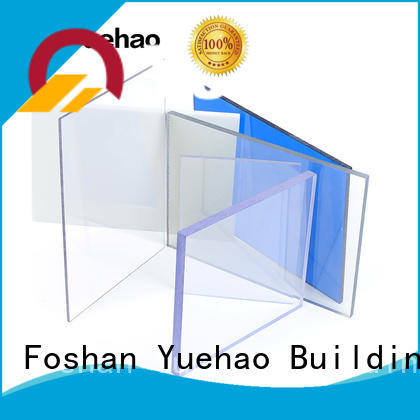 shed clear plastic roof tiles clear for eaves flashing board Yuehao plastic roof tiles wholesaler