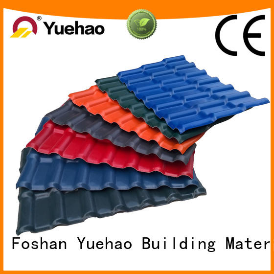 luxury corrugated pvc panels red factory for connection