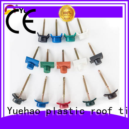 roofing accessories ltd pvc for water draining Yuehao plastic roof tiles wholesaler