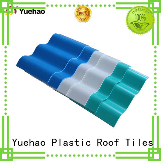 widely used lightweight plastic roof tiles proof supplier for wall sealing