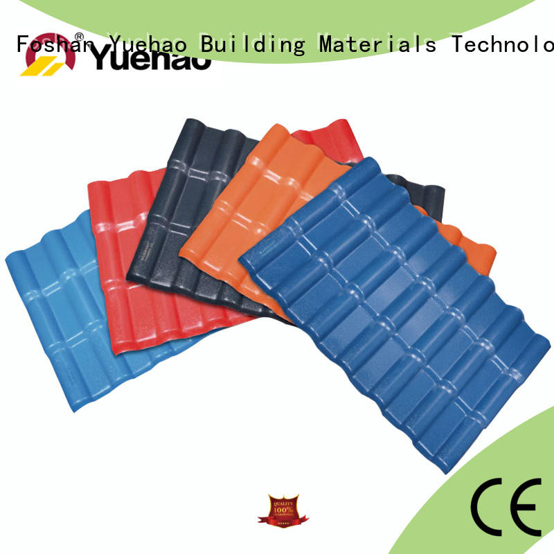 good design lightweight plastic roof tiles customized design for dormer clapping