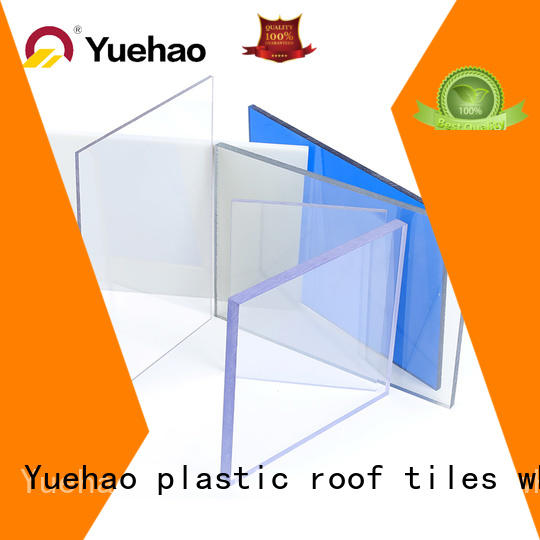 new arrival plastic roofing clear pc factory price for dormer clapping