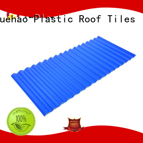 coated heavy duty corrugated pvc roofing sheets layer supplier for carport