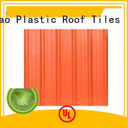 Yuehao plastic roof tiles wholesaler roofing plastic roof tiles wholesaler supplier for airport